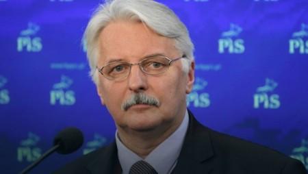 Witold Waszczykowski lengyel külügyminiszter