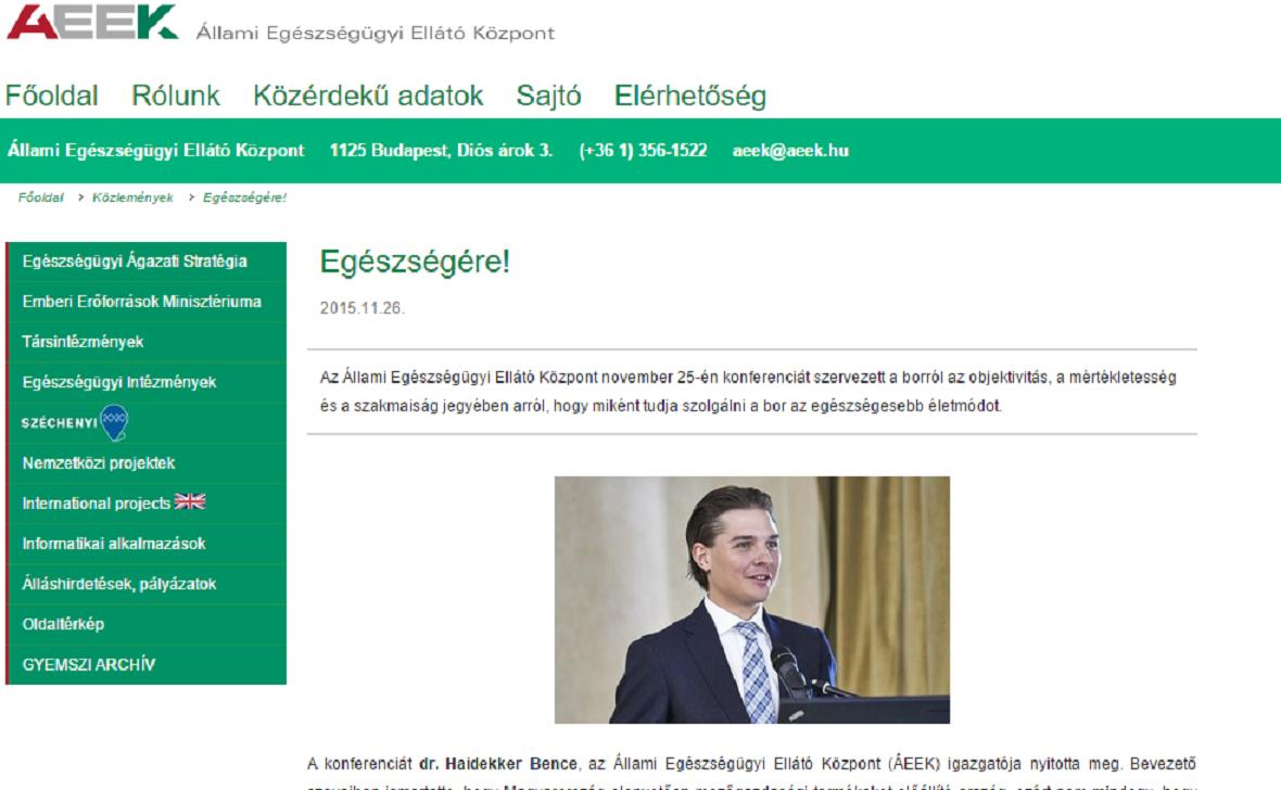AEEK - Dr. Haidekker Bence