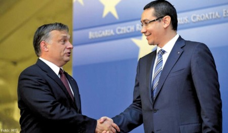 Orbán Viktor és Victor Ponta (fotó: MTI)