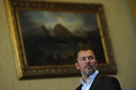 Giró-Szász András, a miniszterelnöki főtanácsadónak álcázott hírgyáros (fotó: Túry Gergely / hvg.hu)