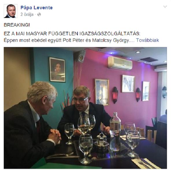 Facebook/Pápa Levente, Együtt