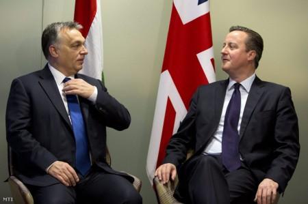 Orbán-Cameron találkozó 2016 januárjában Budapesten (MTI fotó)