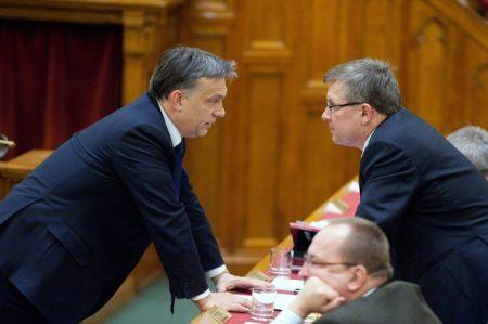 Orbán leszarja, hogy Matolcsy mennyit lop (Fotó: MTI)