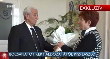 Kiss László 55 év után kéri a bocsánatot (via RTL Klub)