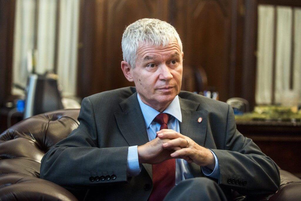 """A magyar """"igazságszolgáltatás"""" szégyene, Polt Péter (Fotó: MTI/Marjai János)"""