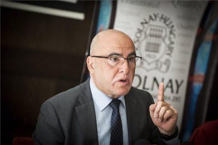 Bachar Najari, a Zsolnay jelenlegi többségi tulajdonosa MTI Fotó/Kallos Bea