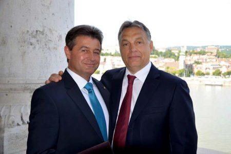 Tasó és Orbán (Fotó: Facebook)