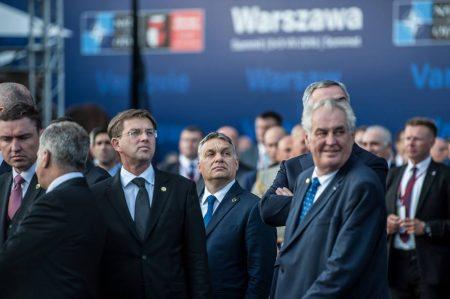 NATO-csúcs, Varsó (Fotó: Orbán Viktor/Facebook)