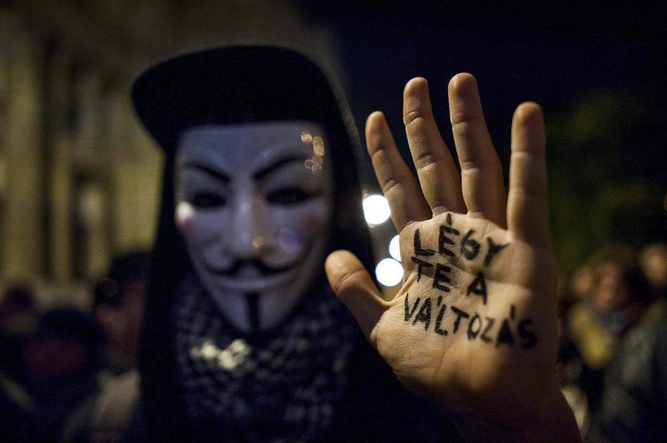 Facebook/Anonymous Operation Hungary