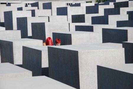 Berlin - zsidó áldozatok emlékhelye Fotó: Kikos
