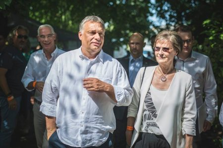 Kötcsei pillanatkép (Fotó: Facebook/Orbán Viktor)