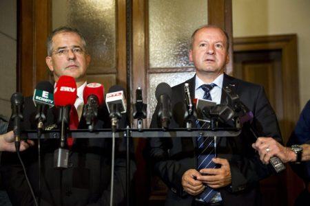 Kósa és Simicskó honvédők (MTI Fotó: Mohai Balázs)