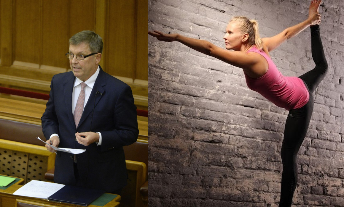 Matolcsy Gyuri és közpénz-szerelme, Vajda Zita (Kép forrása: 444.hu)