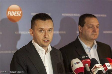 Rogán Antal és Németh Szilárd: már 3 éve sem volt jó érzés rájuk nézni és hallgatni őket (Fotó: MTI)