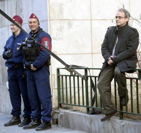 Horváth András, volt NAV-dolgozó aki kirobbantotta az áfacsalás ügyet (Fotó: MTI/Bruzák Noémi)