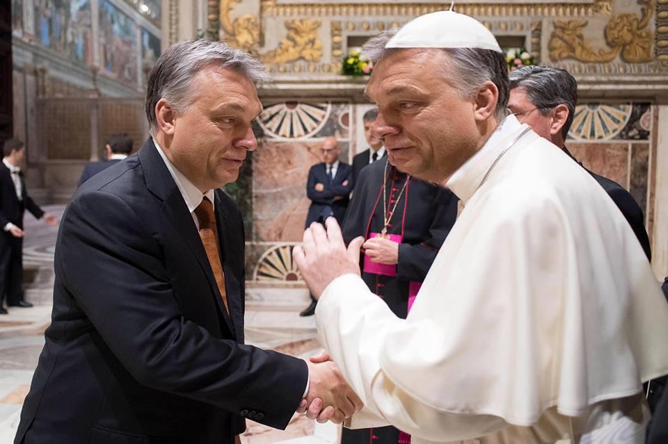 Orbán Viktor utoljára fogadta a pápát