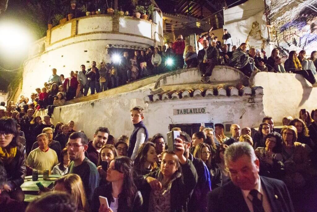 The Holy Week celebrations in the city of Granada arrived to its fourth day.