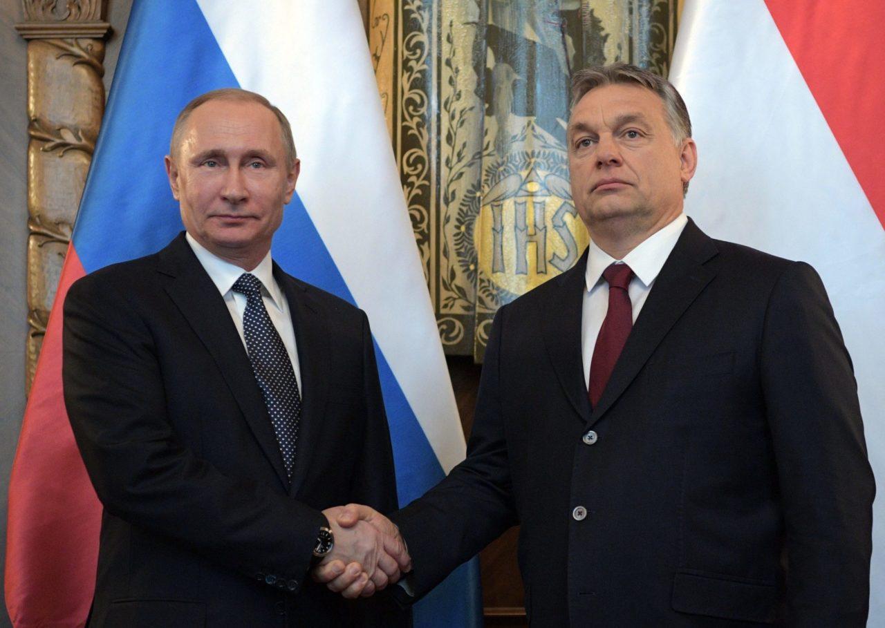 Két óriás 170 centi körül MTI/AP pool/Szputnyik/Kreml/Alekszej Druzsinyin