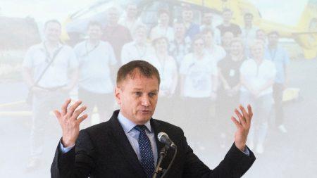 Ónodi-Szűcs Zoltán egészségügyért felelős államtitkár. MTI Fotó: Balázs Attila