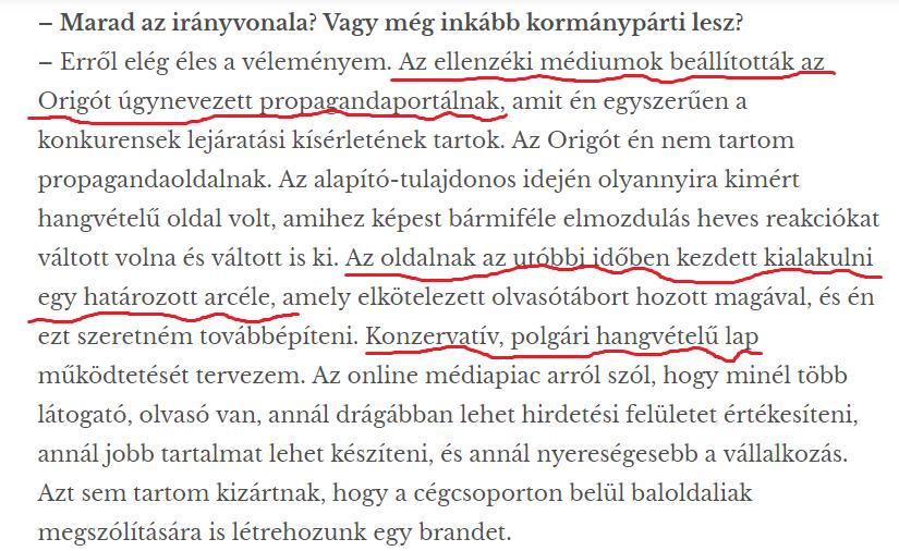 Részlet a Matolcsy Ádámmal készült interjúból - Magyar Idők