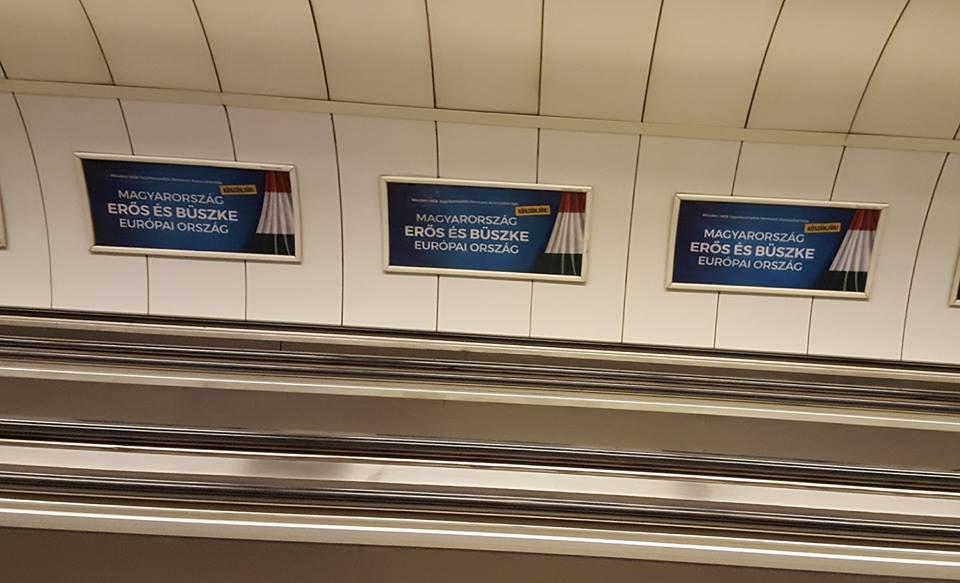 Fotó: Facebook/Ágoston László - Batthyány tér, metró