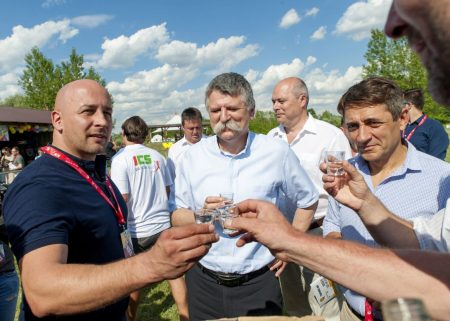 Kövér László a Martosi Szabadegyetemen (Fotó: Krizsán Csaba/MTI/MTVA)