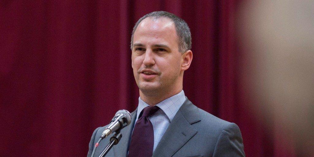 Szigetvári Viktor, az Együtt elnöke. MTI Fotó: Rosta Tibor