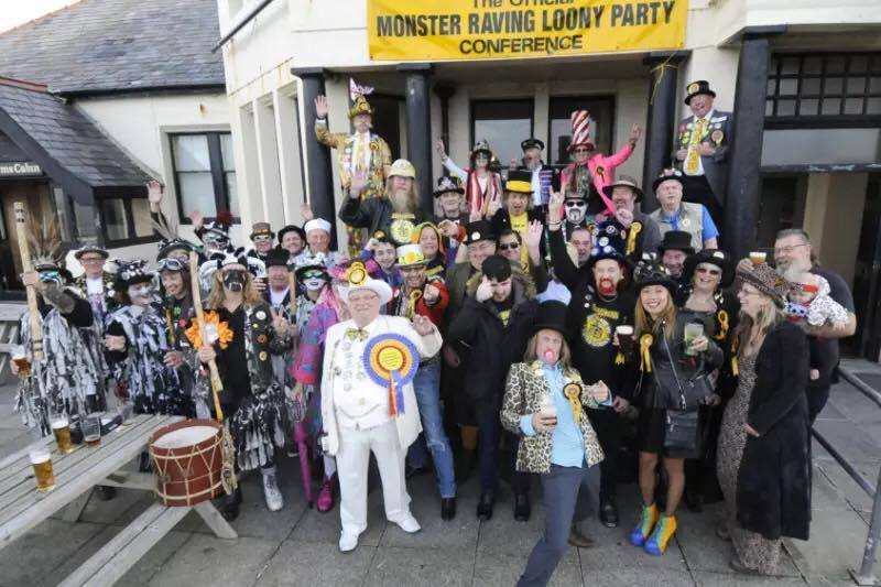 Monster Raving Looney Party/Facebook