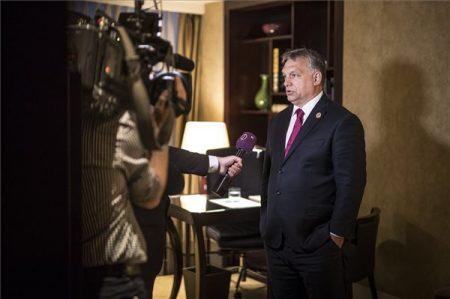 MTI Fotó: Miniszterelnöki Sajtóiroda/Szecsődi Balázs