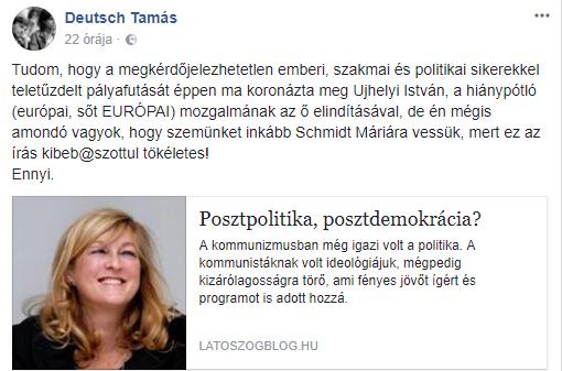 Deutsch Tamás/Facebook