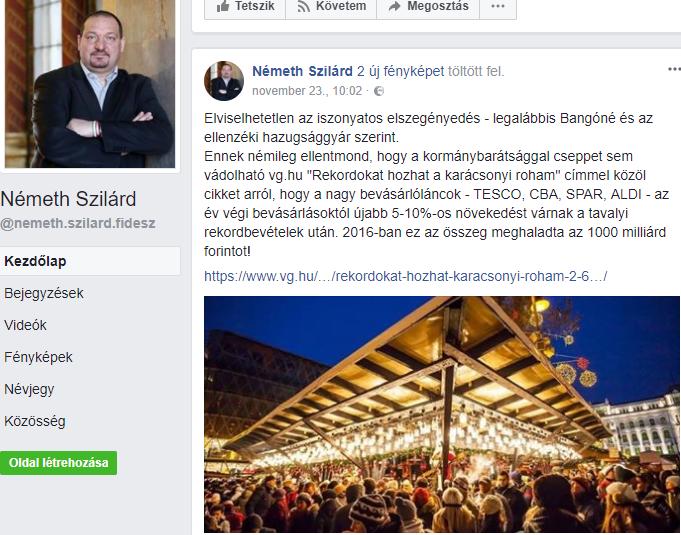 Facebook/Németh Szilárd