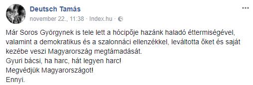 Facebook/Deutsch Tamás