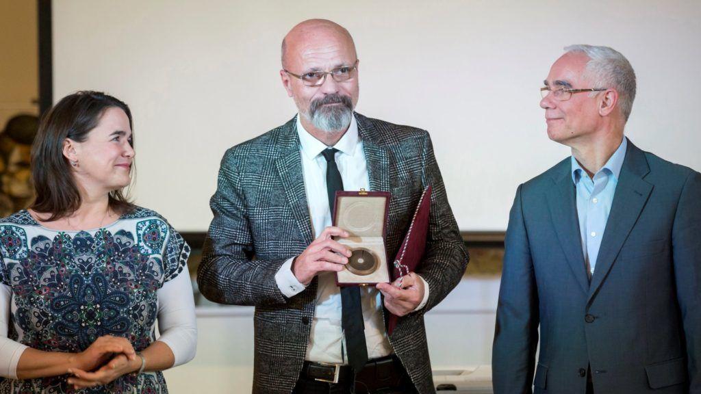 Novák, Zacher, Balog (Fotó: MTI/Emmi)