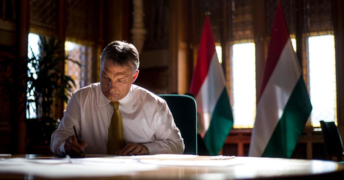 Forrás: Facebook/Orbán Viktor; Fotó: Burger Barna