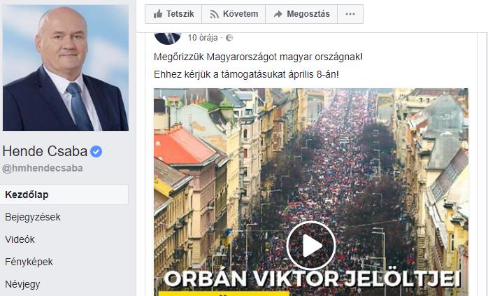 Hende Csaba/Facebook
