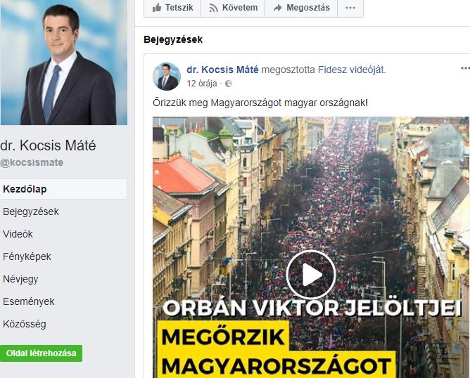 Kocsis Máté/Facebook